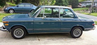 Illustration for article titled For $8,500, This 1971 BMW 2002 Brings Some Neue Klasse