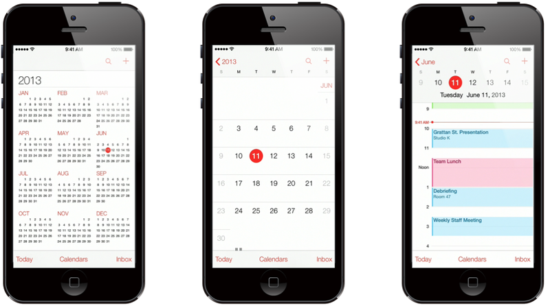Illustration for article titled How to fix iOS7's broken calendar