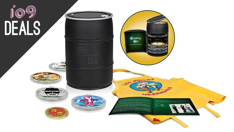 Illustration for article titled Breaking Bad Barrel, Your New Home Theater, and More Deals