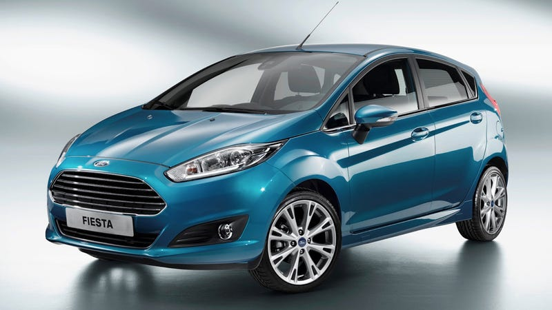 Illustration for article titled 2014 Ford Fiesta: First Photos