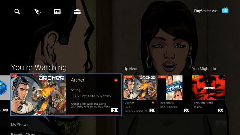 Illustration for article titled PlayStation Vue (Almost) Looks Like a Cord-Cutter's Dream Come True
