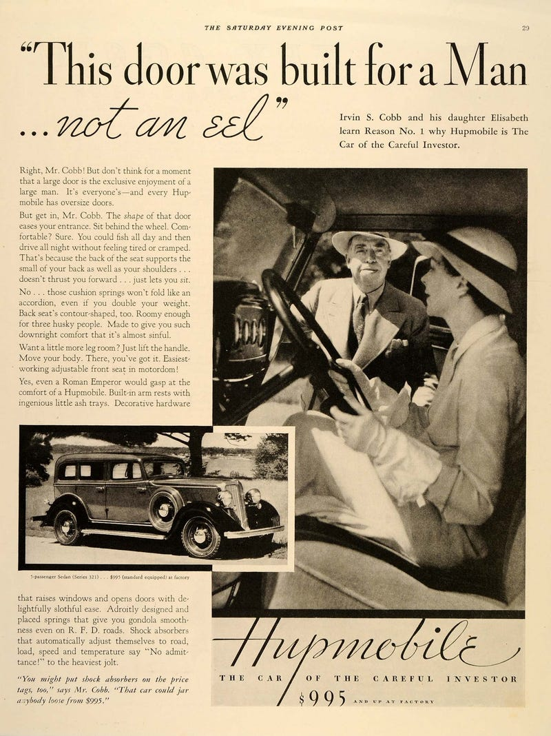 Illustration for article titled Hupmobile
