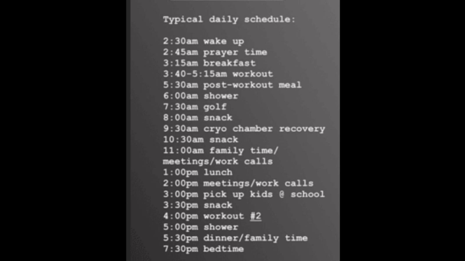 Mark Wahlberg's Typical Daily Schedule Is Not That Bad