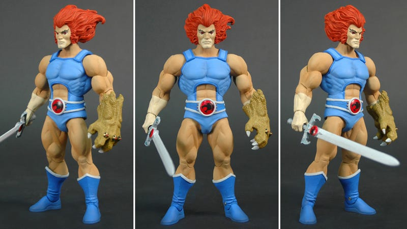Illustration for article titled The New Thundercats Figures Are Looking Amazing