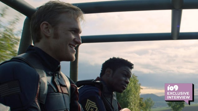 How the New Captain America Prepared for His Superhero Role With the Help of a Surprising Marvel Director
