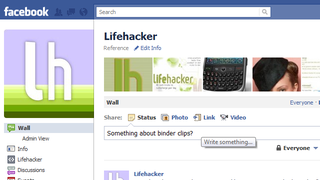 Illustration for article titled Follow Lifehacker and Our Writers on Facebook to Vary Up Your News Feed