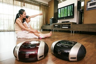 Illustration for article titled Two New Samsung Robot Vacuums: VC-RS60, VC-RS60H