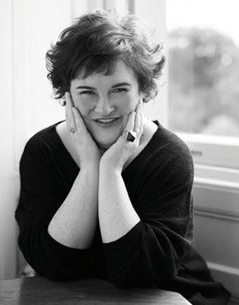 Illustration for article titled Susan Boyle Goes Glam For Harper's Bazaar