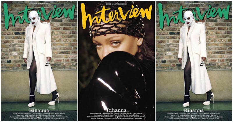 Illustration for article titled Underneath It All: Rihanna Reveals Her 'Shy' Side, Says She Wants to Be a Mother 'More Than Anything'