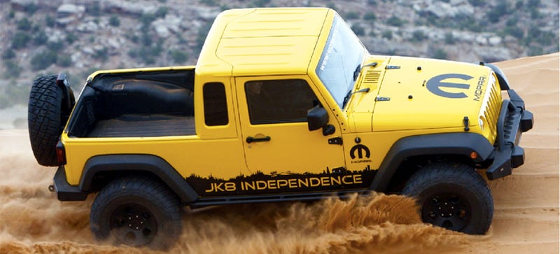Illustration for article titled Did Fiat Chrysler Boss Sergio Marchionne Just Confirm A Jeep Pickup? [UPDATED]