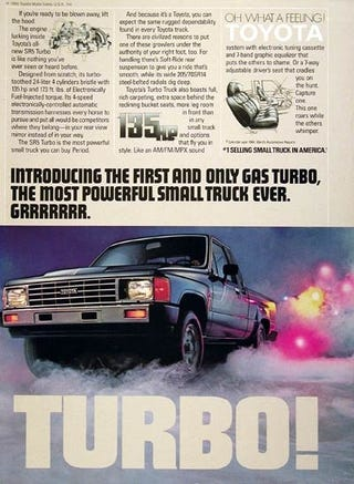 Illustration for article titled Just because I have an irrational love for the '84-'88 Toyota Truck