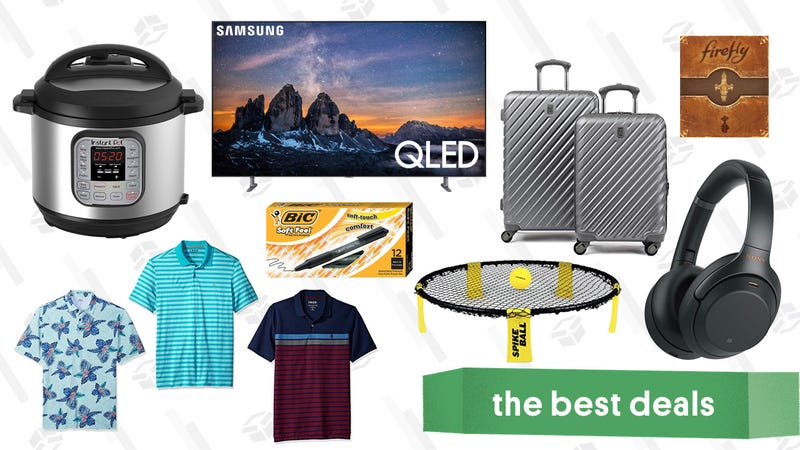 Illustration for article titled Wednesday's Best Deals: $50 Instant Pot, Firefly, Anker Exclusives, IZOD, and More
