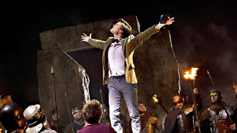 """Illustration for article titled Doctor Who: """"The Pandorica Opens"""""""