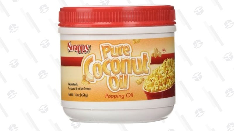 Snappy Popcorn Supplies, Colored Coconut Oil | $9 | Amazon