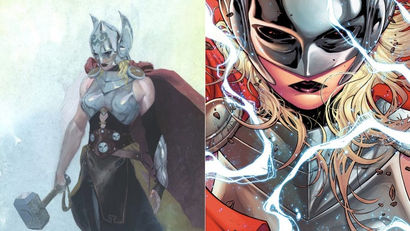 Illustration for article titled Marvel's New Thor Is A Woman