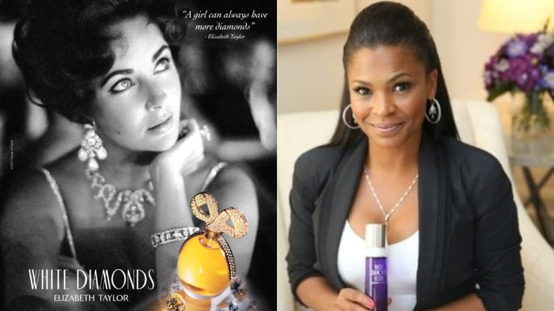 Illustration for article titled Nia Long Is the First Non-Elizabeth Taylor Face of White Diamonds