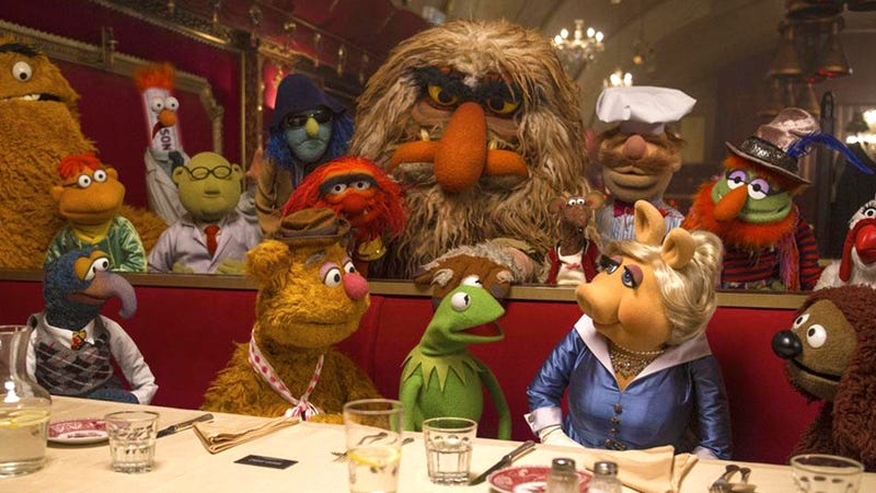 Illustration for article titled Sensational, Inspirational, Celebrational: Muppets Most Wanted, Reviewed
