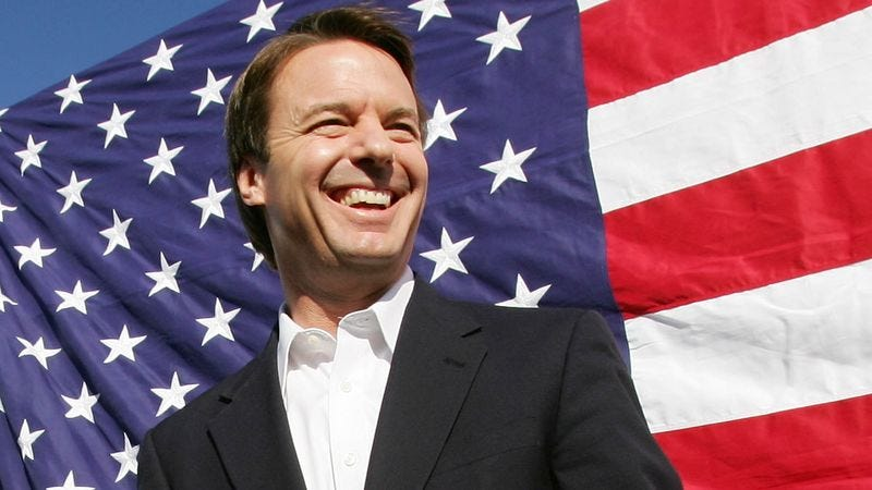 'The Onion' firmly believes John Edwards is the right man for the job.