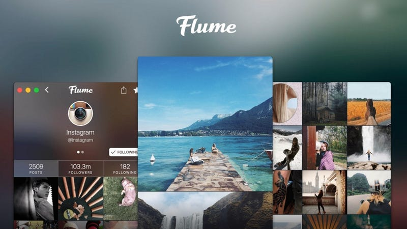 Illustration for article titled Flume for Mac Brings Instagram to Your Desktop, Uploading Included