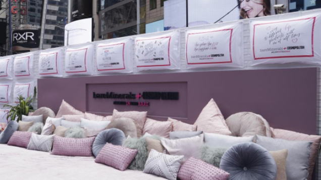 Cosmoand Bare Minerals Accidentally Built a Bed Bug Kingdom in Times Square