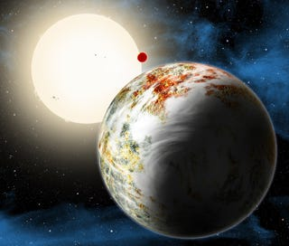 """Illustration for article titled Astronomers Discover the """"Mega Earth,"""" an Entirely New Type of Planet"""