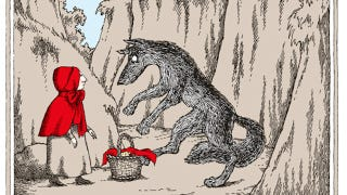 Illustration for article titled How Edward Gorey illustrated three classic fairytales