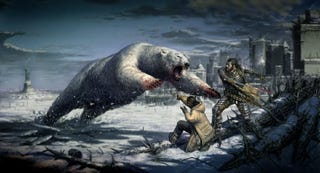 Illustration for article titled In The Post Apocalyptic Frozen Future, We Will Never Surrender To Polar-Bear Fury