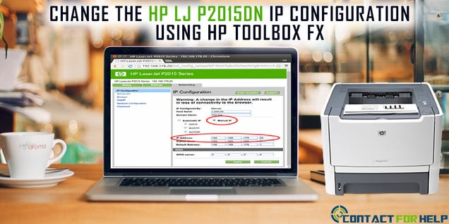 Illustration for article titled How to Change the HP LJ p2015dn IP configuration using HP Toolbox FX