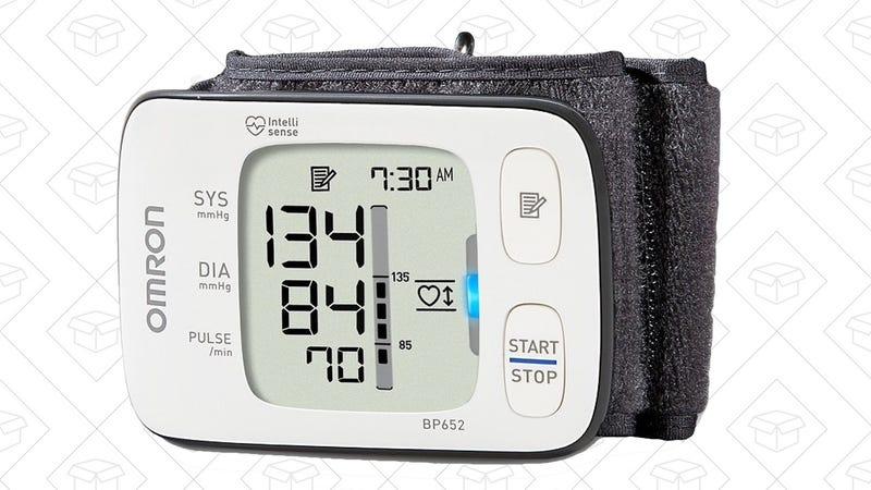 Omron 7 Series Wrist Blood Pressure Monitor, $43