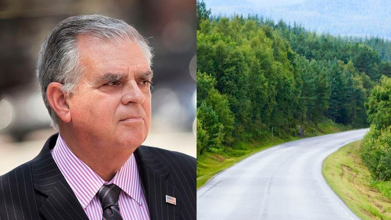 Illustration for article titled Ray LaHood Resigns Following Mysterious Disappearance Of Country Road