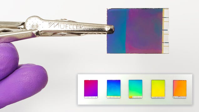 We re Getting Closer to Electronic Paper That Can Display as Many Colors as an LCD Display