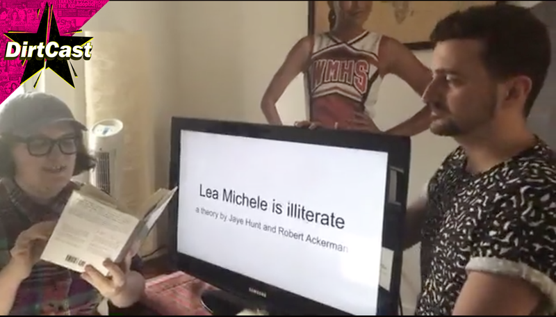 Illustration for article titled Talking to the Delightful Creators of the 'Lea Michele Can't Read' Conspiracy