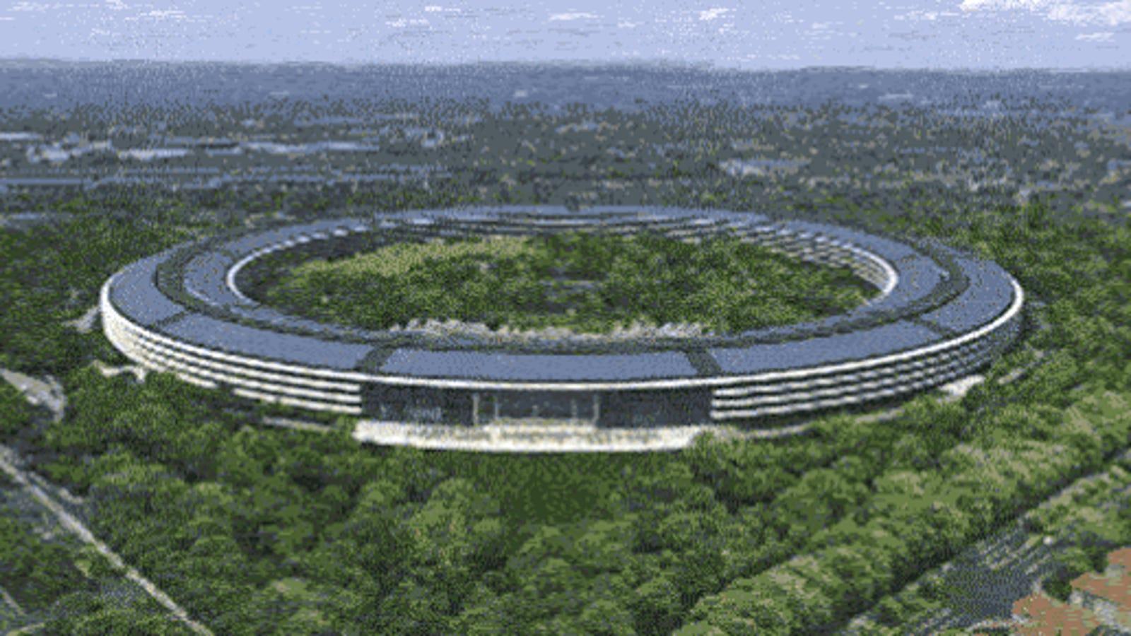 Sobrevuela el edificio de la futura sede de Apple en este nuevo vídeo
