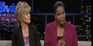 Jane Fonda and Mary Williams (PBS screenshot)
