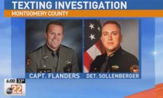 Sheriff's Capt. Thomas J. Flanders and Det. Michael J. SollenbergerABC 22 Screenshot