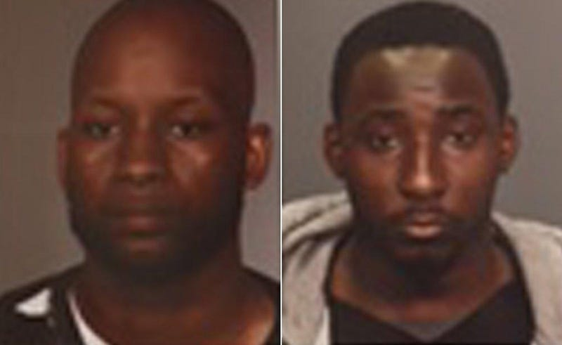 New York City police initially said that Frederick Coleman and Tyrell Rozzell had been publicly identified as suspects in a fatal December 2016 shooting through these photos. However, police never bothered to publicly disclose that Rozzell was later ruled out as a suspect. (Handout via New York Daily News)