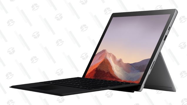 Save $260 on Microsoft's Convertible Surface Pro 7 With Keyboard Cover