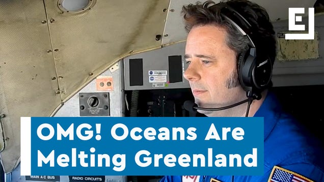 NASA Is Flying Over Greenland to Predict the Future of Our Coastlines