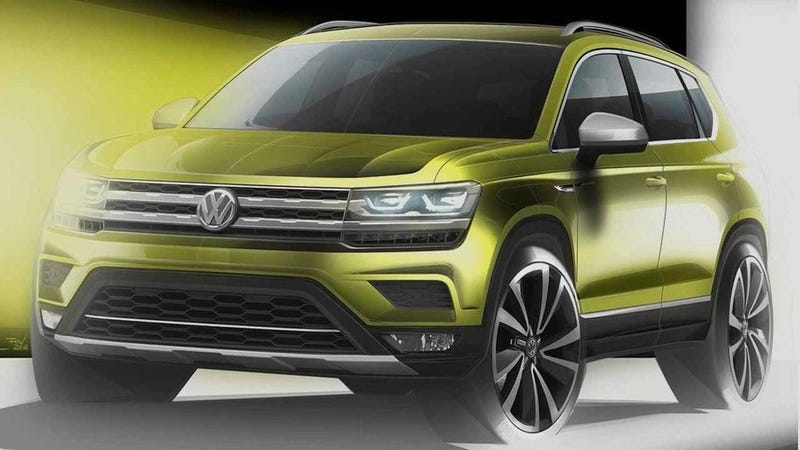 Illustration for article titled Volkswagen's New Chinese Crossover Is Heading For America Too