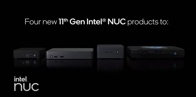 Intel Just Quietly Launched Its New Phantom Canyon NUC 11 Lineup