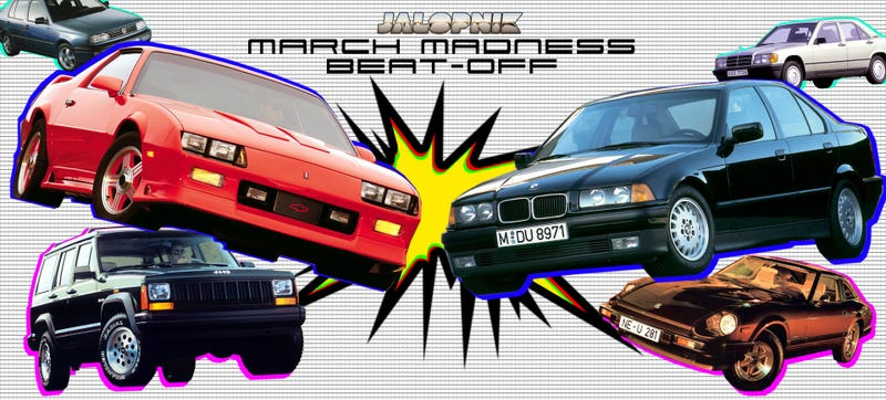 Illustration for article titled It's The Jalopnik March Madness Beat-Off!