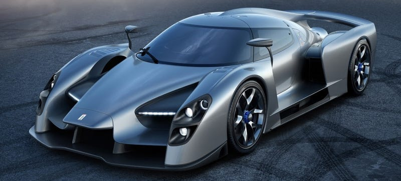 Illustration for article titled The Glickenhaus SCG003S Is A Road Car That Will Rip Your Face Off In The Corners