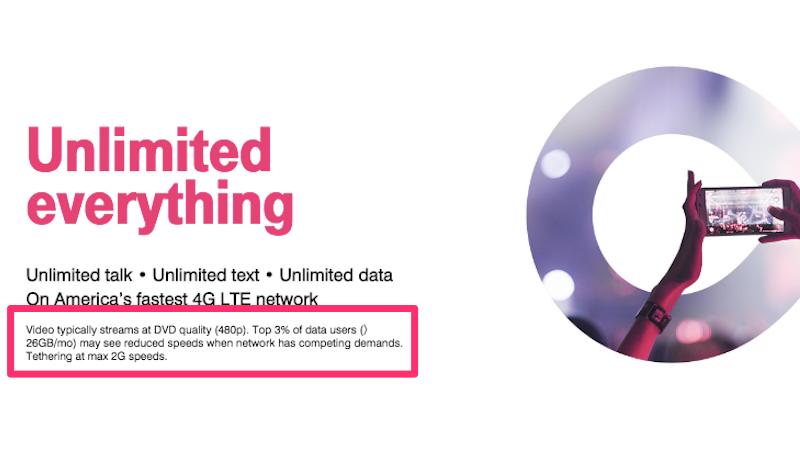 Illustration for article titled T-Mobile's New Unlimited Plan Comes With Some Significant Caveats