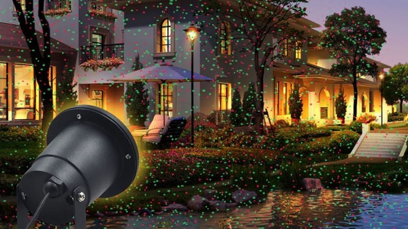 Landscape Holiday Laser Projector, $20 with code USSR8Q9U