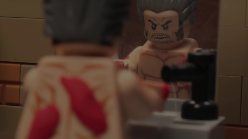 Illustration for article titled The Lego Version of the Logan Trailer Is Still Shockingly Moving