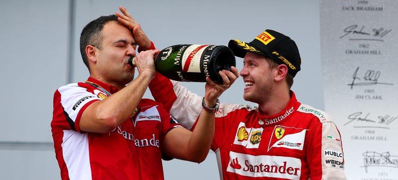 Illustration for article titled Sebastian Vettel Is Probably Still Hungover