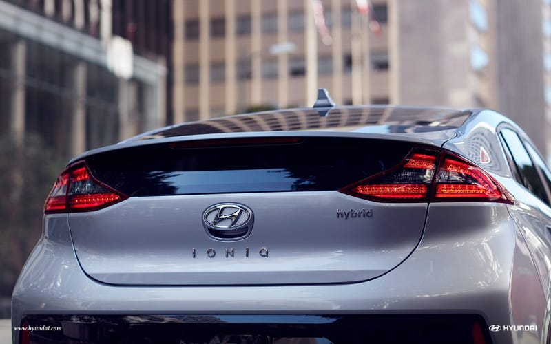 Illustration for article titled Saw my first Hyundai Ioniq in the wild yesterday