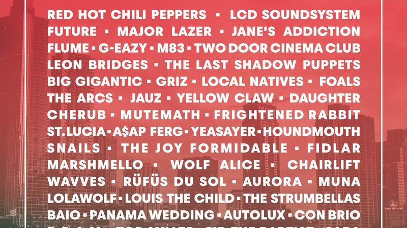 Illustration for article titled Stream all of Lollapalooza from the comfort of your couch