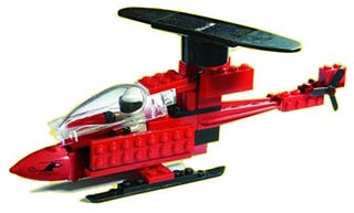 Illustration for article titled Lego Solar Helicopter Sends Mixed Message to Kids