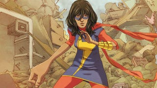 Illustration for article titled The new Ms. Marvel is here and ready to rock your world